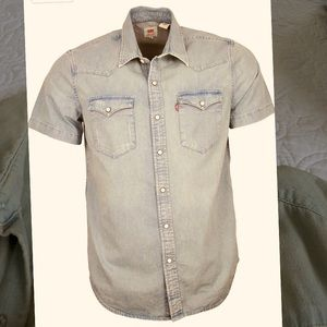 Levi's Short Sleeve Slim Fit Barstow Western Shirt